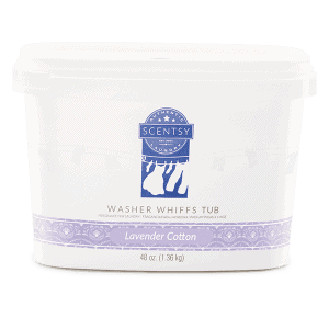 Lavender Cotton Washer Whiffs Tub