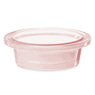 Brushed Blush Dish