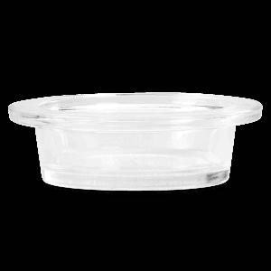 Mercury Glass Dish