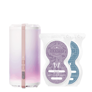 Scentsy Go Rose Gold Bundle