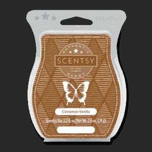 Cinnamon Vanilla Scentsy Bar
