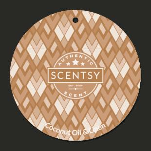 Coconut Oil & Linen Scent Circle