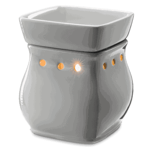 Classic Curve - Gloss Grey - Scentsy Warmer