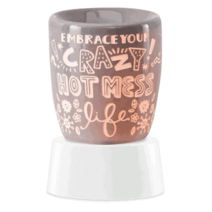 Crazy Hot Mess - Mini Scentsy Warmer (Table Top)