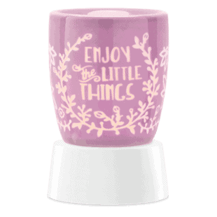 Enjoy the Little Things - Mini Scentsy Warmer (Table Top)