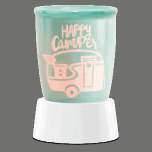 Happy Camper - Mini Scentsy Warmer (Table Top)