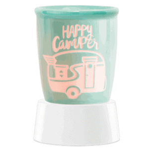 Happy Camper - Mini Scentsy Warmer (Table Top)