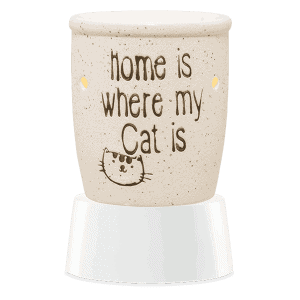 Home is Where My Cat Is - Mini Scentsy Warmer (Table Top)