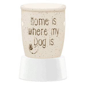 Home is Where My Dog Is - Mini Scentsy Warmer (Table Top)