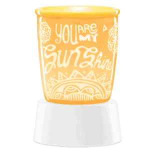 You are my Sunshine - Mini Scentsy Warmer (Table Top)