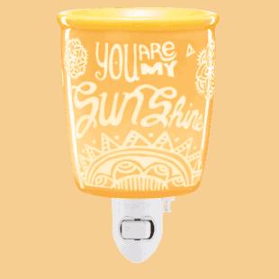 You are my Sunshine - Mini Scentsy Warmer (Wall Plug)