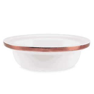 Etched Core Rose Gold - DISH ONLY