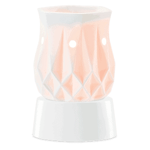 Alabaster Mini Warmer with Table Top Base