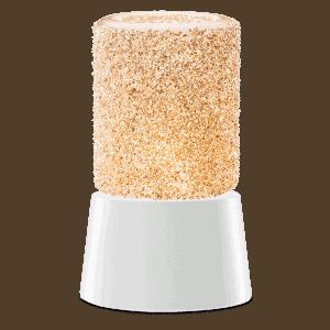Glitter Silver - Mini Scentsy Warmer (Table Top)
