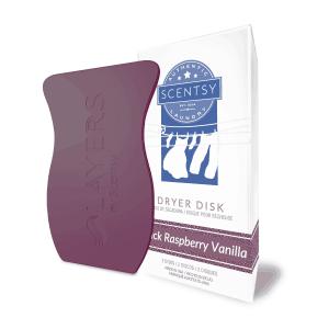 Scentsy Dryer Disks - Black Raspberry Vanilla