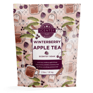 Winterberry Apple Tea Scentsy Soak