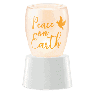 Peace on Earth Mini Table Top Warmer
