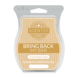 Frosted Ginger Cookie Scentsy Bar