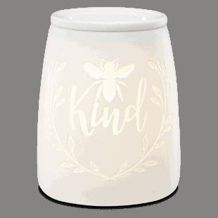 Bee Kind Scentsy Warmer Glow