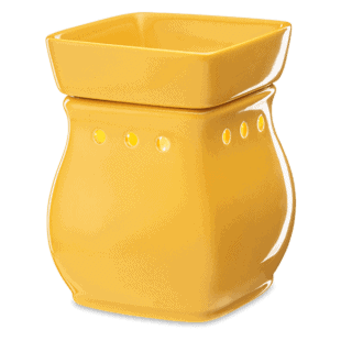 Classic Curves Gloss Mustard Scentsy Warmer Glow