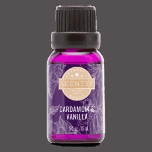 Cardamom & Vanilla - Natural Oil