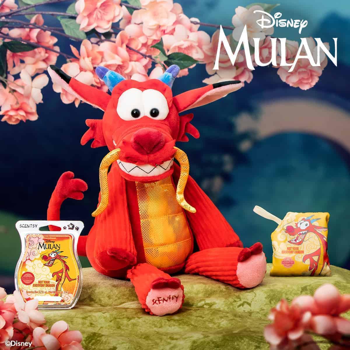 Mulan Mushu Scentsy Buddy