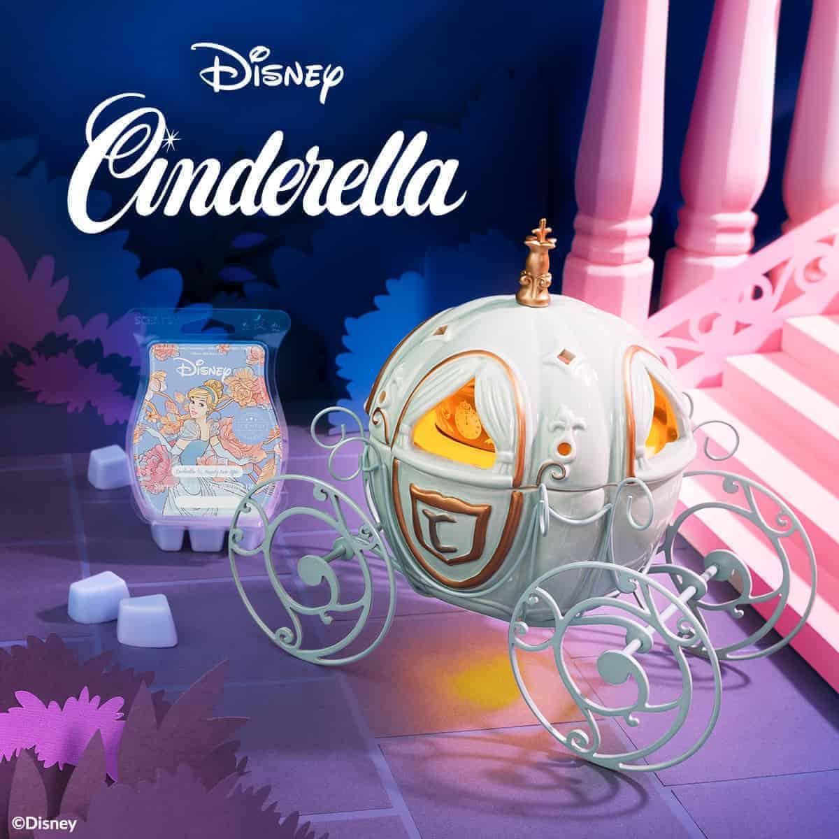 Cinderella Carriage Scentsy Warmer