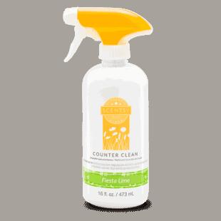 Fiesta Lime Counter Clean