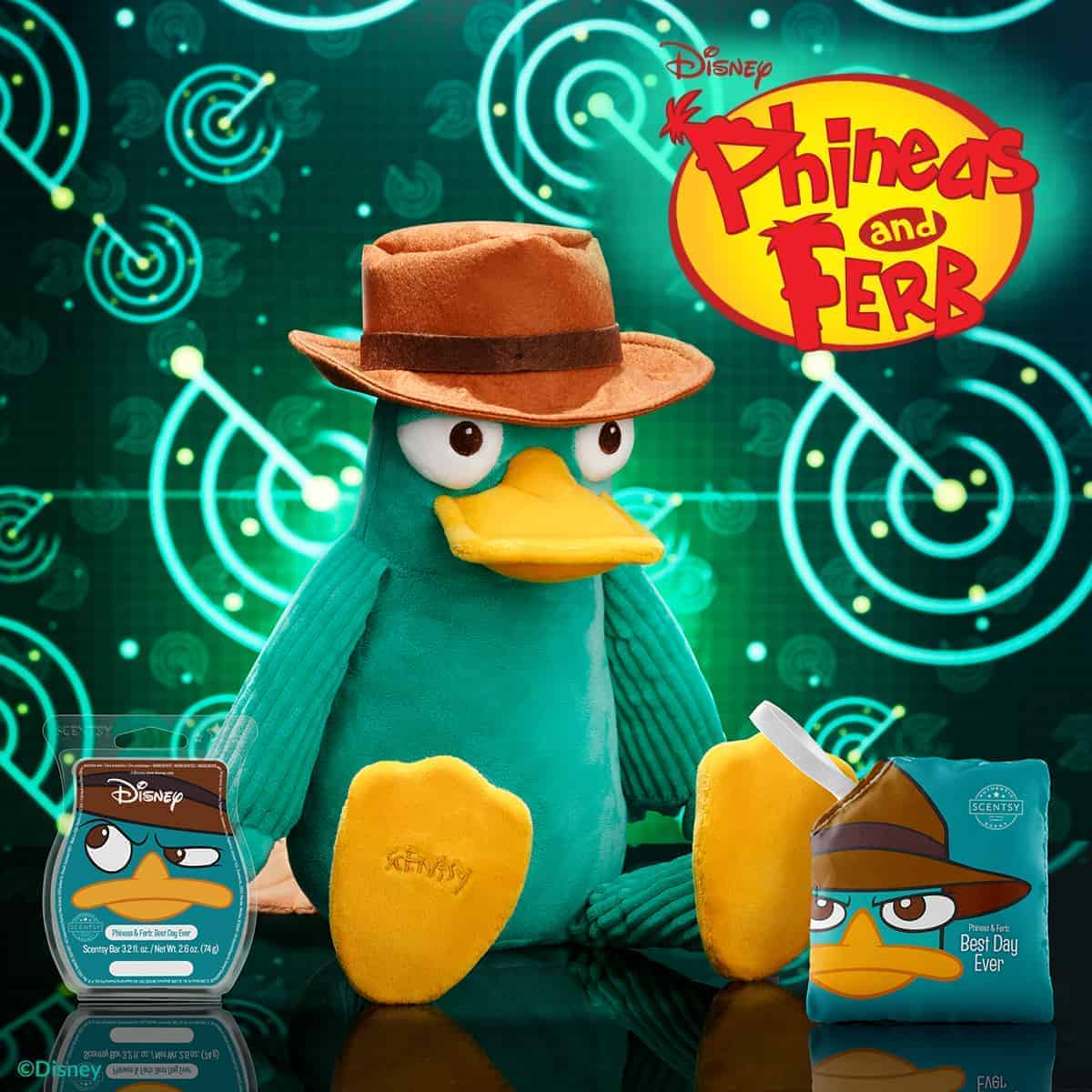 Perry the Platypus – Scentsy Buddy