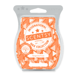 Tangerine Fizzy Scentsy Bar