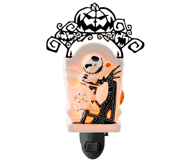 Jack Skellington Pumpkin King Scentsy Warmer
