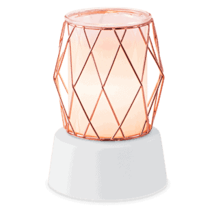 Wire You Blushing? - Mini Scentsy Warmer (Table Top)