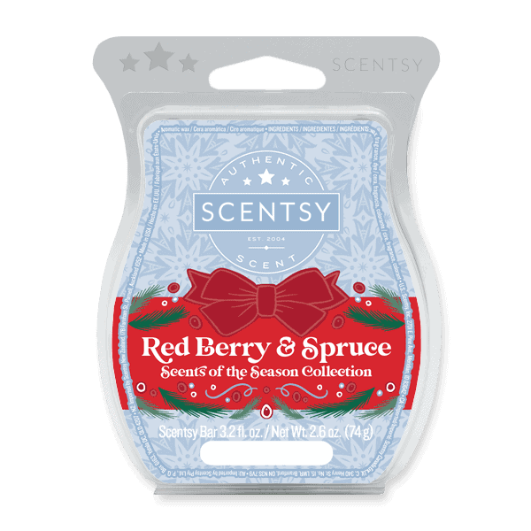 Red Berry & Spruce Scentsy Bar