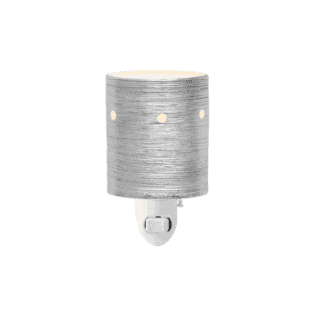 Etched Core - Silver - Mini Scentsy Warmer (Wall Plug)