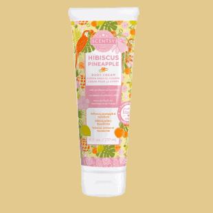 Hibiscus Pineapple Body Cream