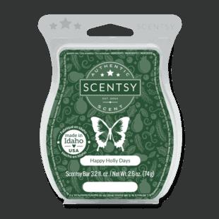 Happy Holly Days Scentsy Bar