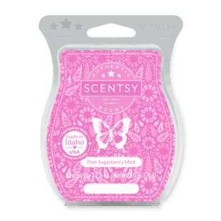 Pink Sugarberry Mint Scentsy Bar