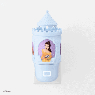 Disney Princess Wall Fan Diffuser Blue
