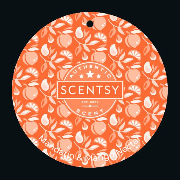 Mandarin & Mango Nectar Scent Circle