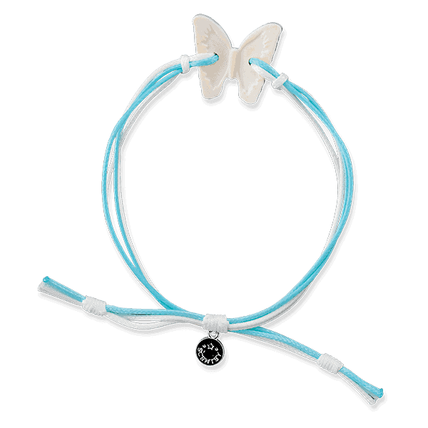 Blue Agave & Melon Scented Butterfly Bracelet