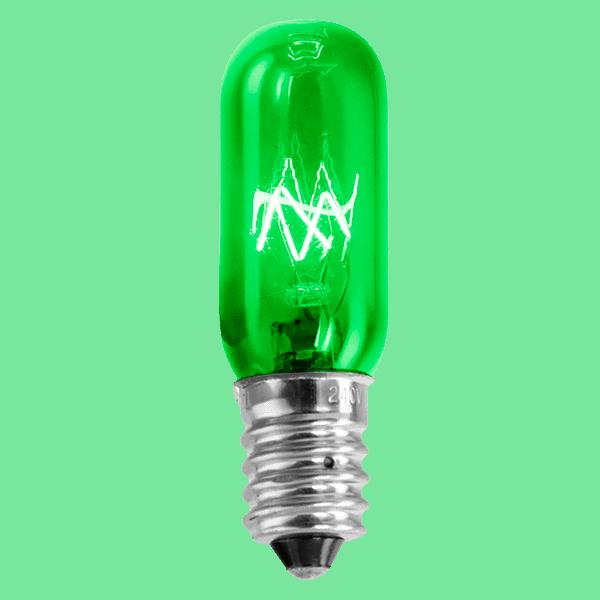 Green 15w Light Bulb