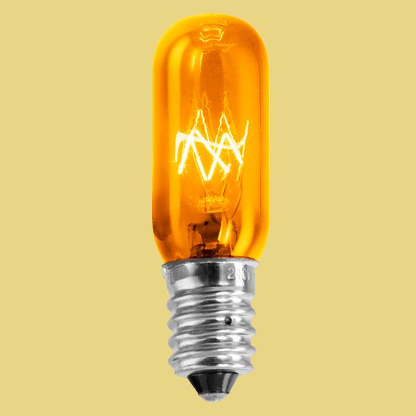 Orange 15w Light Bulb