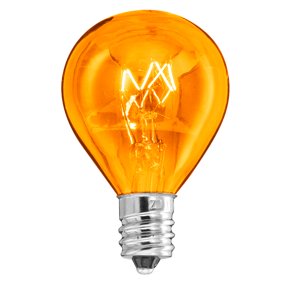 Orange 20w Light Bulb