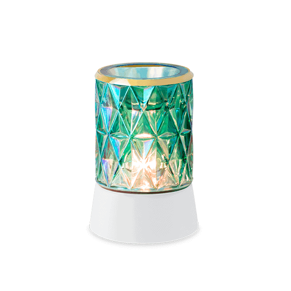 Crowned in Gold Mini Scentsy Warmer Table Top