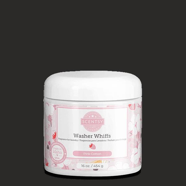 Pink Cotton Washer Whiffs