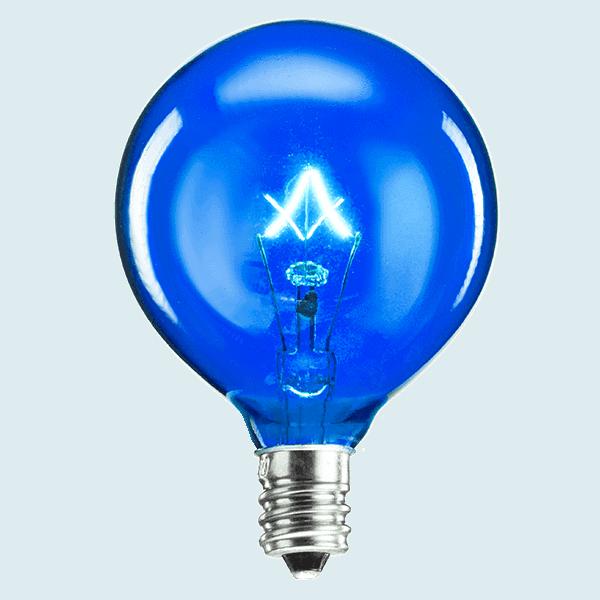 Blue 25w Light Bulb