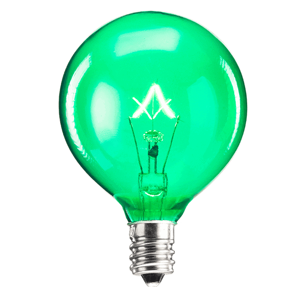 Green 25w Light Bulb