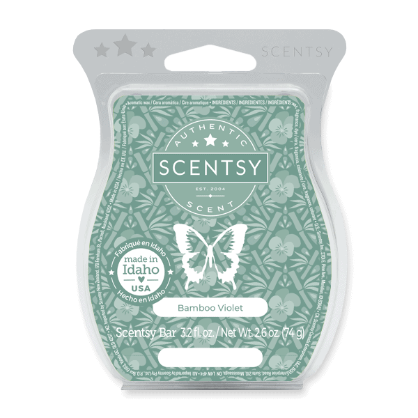 Bamboo Violet Scentsy Bar