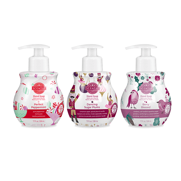 Holiday Hand Soap 3 Pack