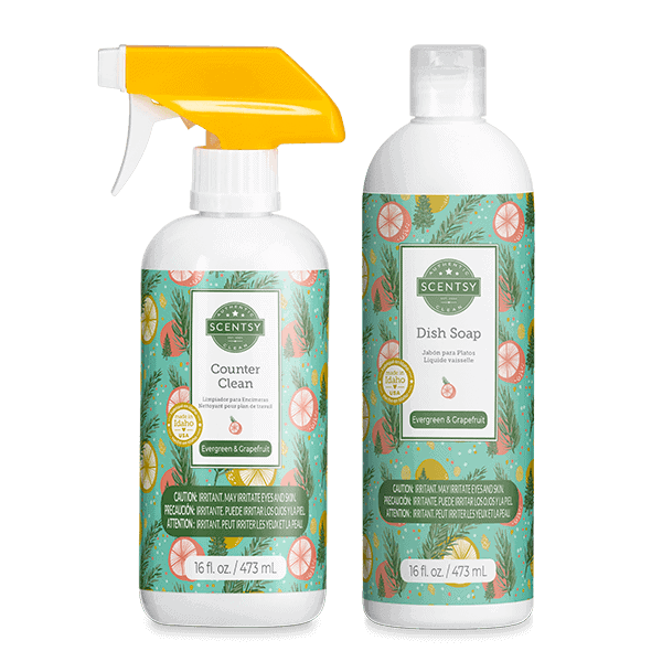 Evergreen & Grapefruit Clean Bundle